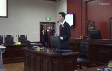八年级下册 政治 西宁七中学生模拟法庭-视频素材