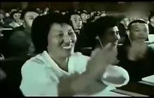 八年级下册 政治 一代伟人毛主席80岁在全国人民代表大会讲话-视频素材