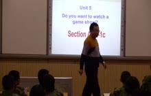人教版 八年级上 英语 Unit5 Do you want to watch a game show (Section A1a-1c)