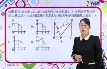 初中数学:动点问题的函数图象3-试题视频