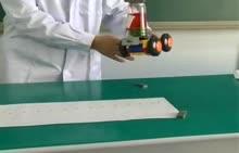 人教版 八年级物理:实验匀速直线运动-实验演示