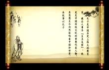 人教版 八年级语文--夫子游春-视频素材