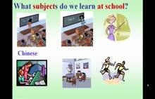 七年级英语:Words about Subjects-微课堂视频