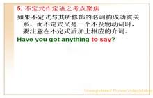 中考英语专项复习微课视频:92.不定式作定语之考点聚焦-微课堂视频