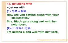 中考英语专项复习微课视频:76.动词短语get along with-微课堂视频