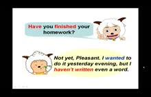 苏教牛津版 七年级英语 Unit 3 Grammar 一般过去时和现在完成时的区别-微课堂视频