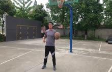 人教版 八年级 体育《篮球体前单手变向》-视频素材