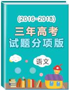 三年高考(2016-2018)语文试题分项版解析