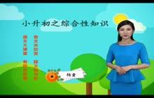 人教版 小升初语文 专题7 综合性知识-视频微课堂