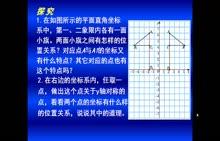 北师大版 八年级数学上册 3.3轴对称与坐标变化-视频微课堂