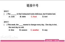 人教版 初中英语 中考复习-名词-视频微课堂