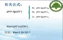 人教版 高中化学 关于PH的计算-视频微课堂