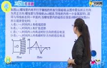 高中物理 电磁感应中的图象问题-感生类图象问题1-试题视频