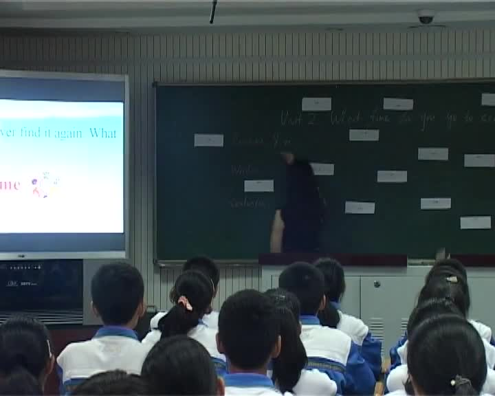 人教新目标版 七年级英语下册 Unit2 What time do you go to school(名师课堂)-视频公开课