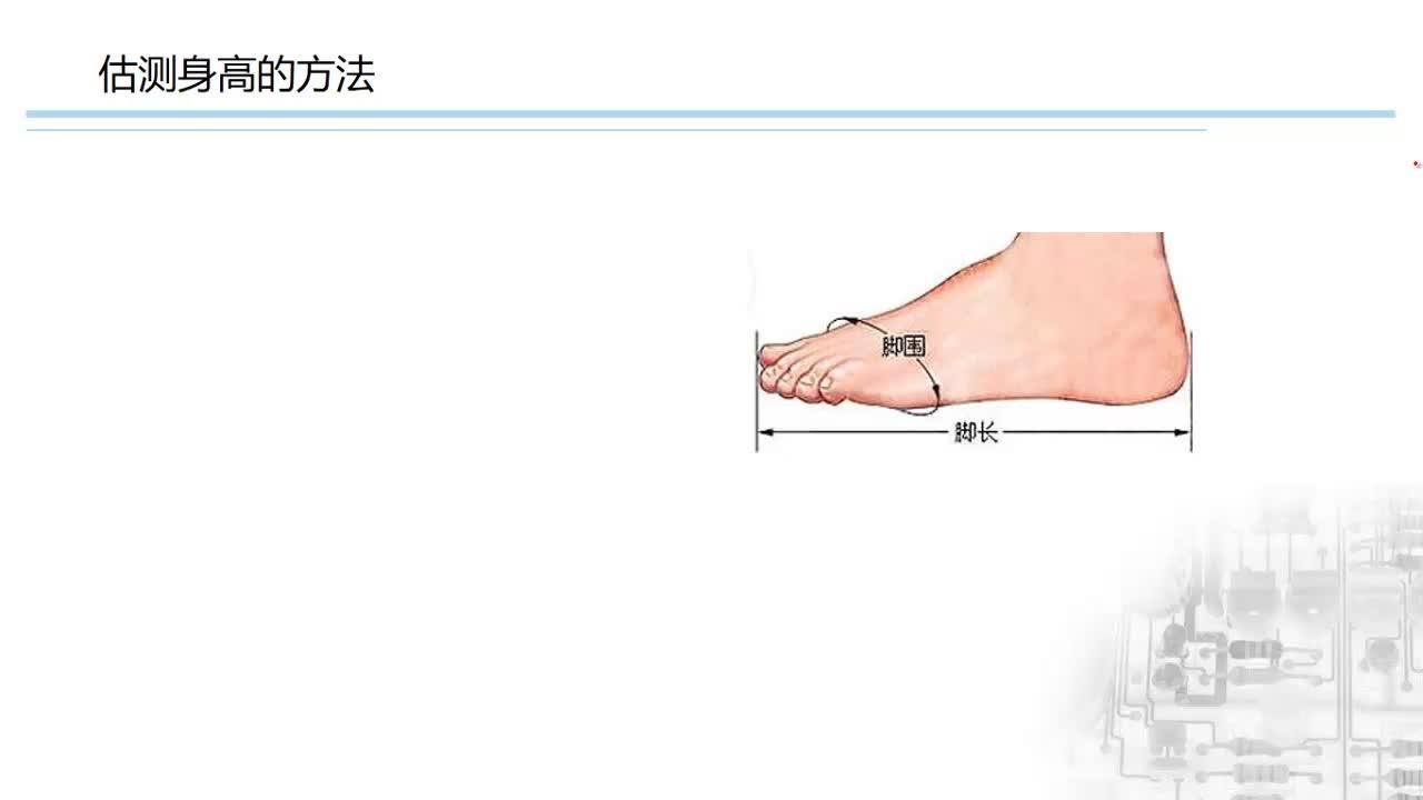 人教版八年级物理上册 第一章 第1节 长度和时间的测量-身高的估测-视频微课堂
