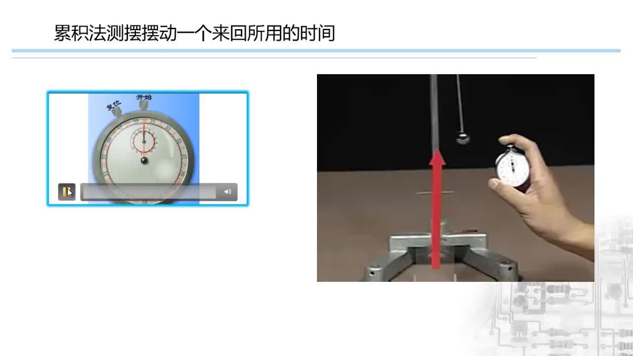 人教版 八年级物理上册 第一章 第一节 时间的测量-视频微课堂