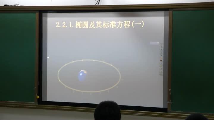 人教版 高中数学 选修2-1 第二章第二节《椭圆及其标准方程》马学红