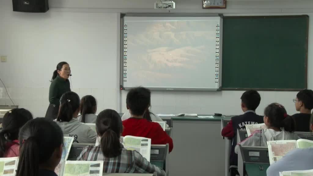 中图版 七年级地理下册 7.5黄土高原-课堂实录
