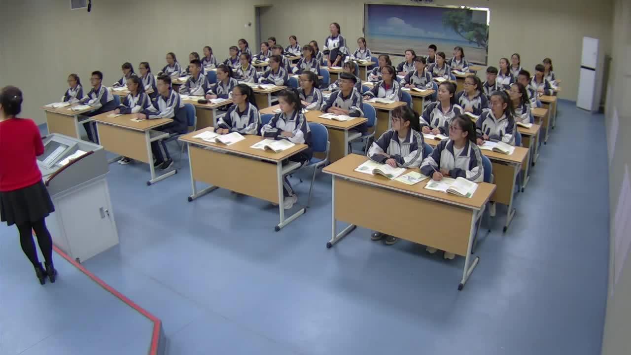 北师大版 高中语文 必修4 第二单元 登高-课堂实录