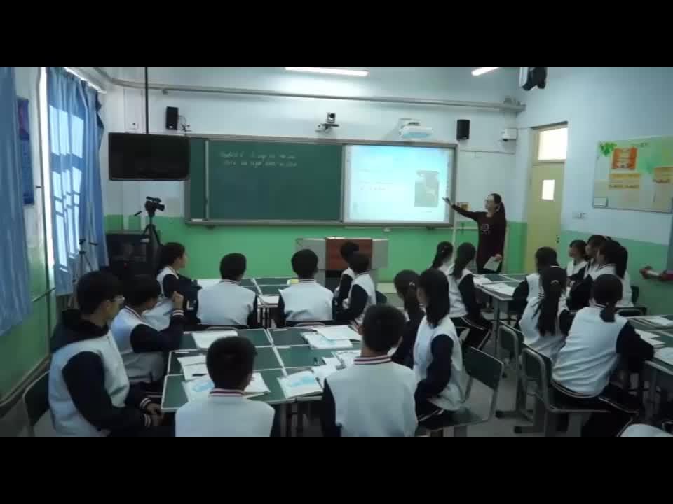 外研版 七年级英语上册 Module 6 Unit 2 The tiger lives in Asia-视频公开课