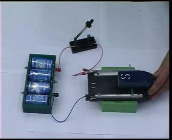 人教版 九年级物理 电动机 磁场对通电直导线的作用-实验演示
