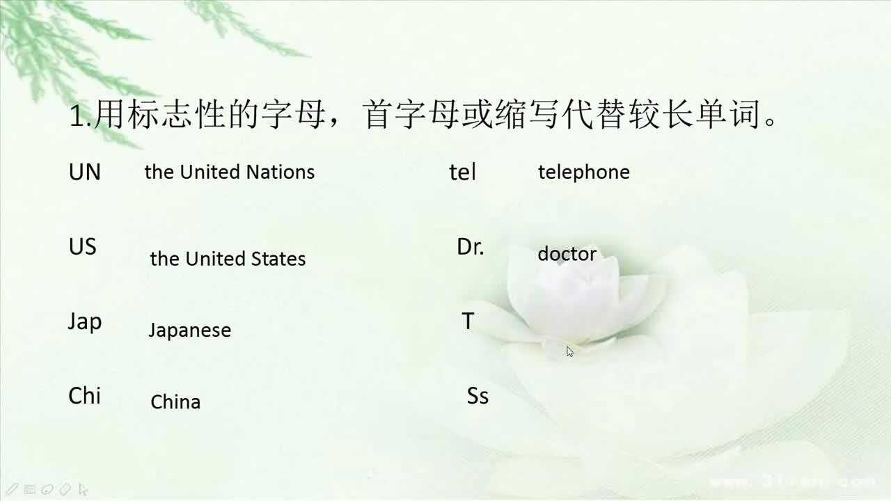 人教版 高一英语 必修一 听力速记法-视频微课堂