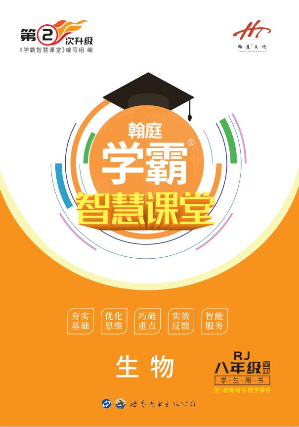 2019-2020学年八年级全一册初二生物【学霸智慧课堂】(人教版)