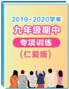 2019-2020学年上学期九年级英语期中考试专项训练(仁爱版)