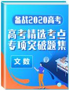 备战2020年高考数学(文)精选考点专项突破题集
