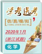 2020年1月浙江学考选考化学仿真模拟试题