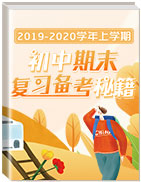 2019-2020學年上學期初中期末復習備考秘籍