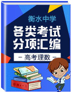 备战2019年高考数学(理)之衡水中学各类考试分项汇编