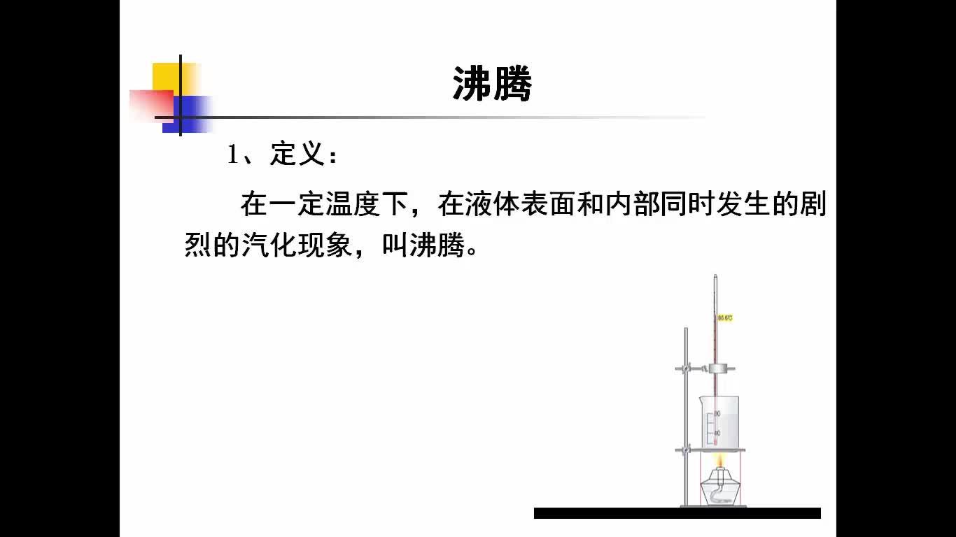 人教版 八年级物理上册 第三章 第三节 汽化和液化(第2课时)-视频微课堂(蓝天微课堂)