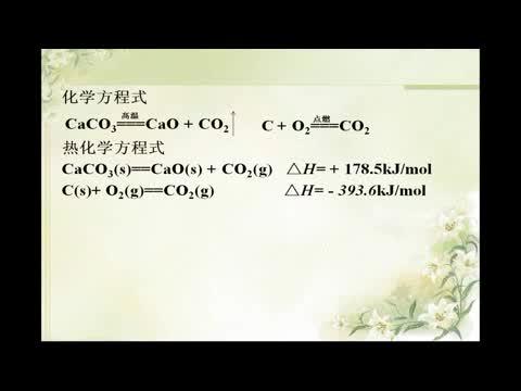 苏教版 高一化学 必修二 2.2热化学方程式