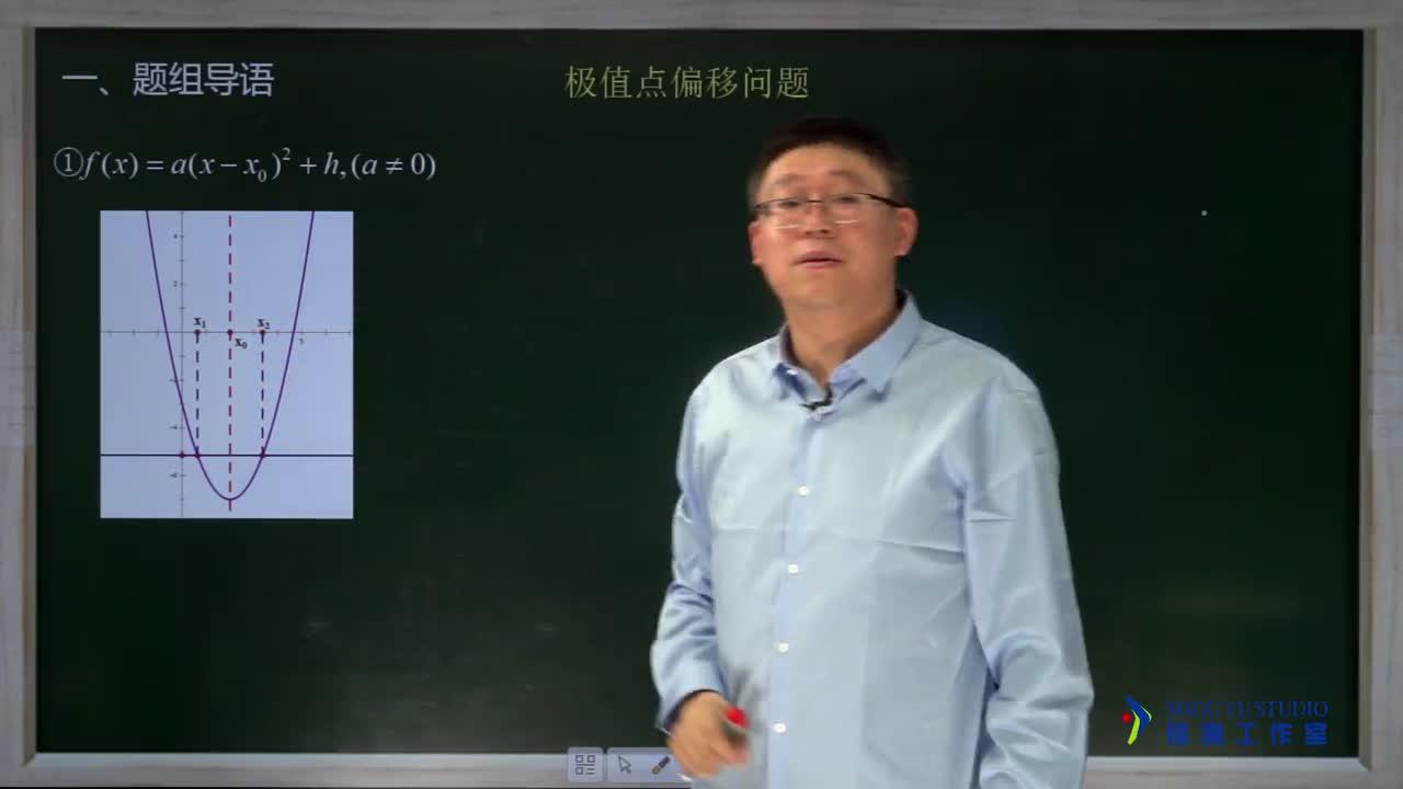 3.5.1 极值点偏移问题(1)(名师视频)-高中数学【题组全解】
