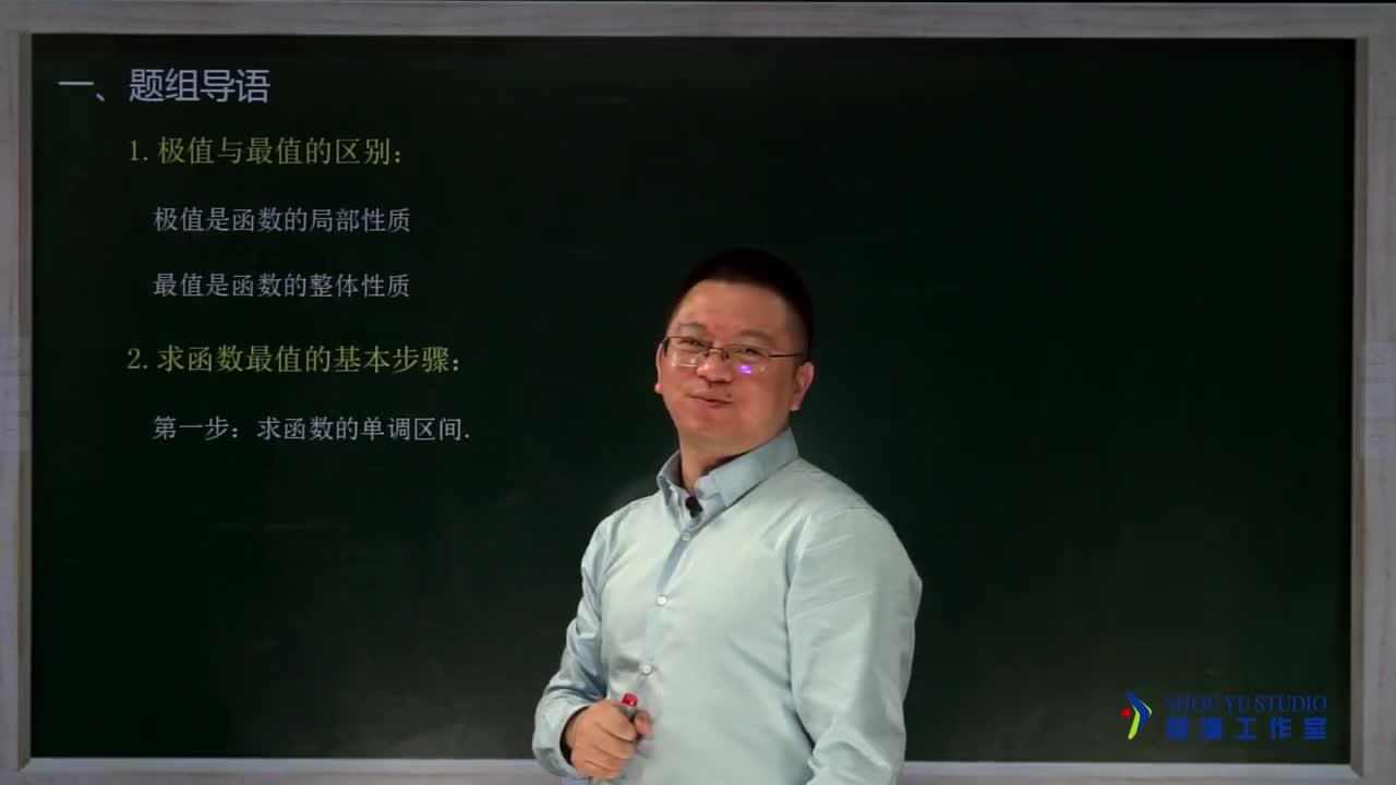 3.3.4 函数的最值(名师视频)-高中数学【题组全解】