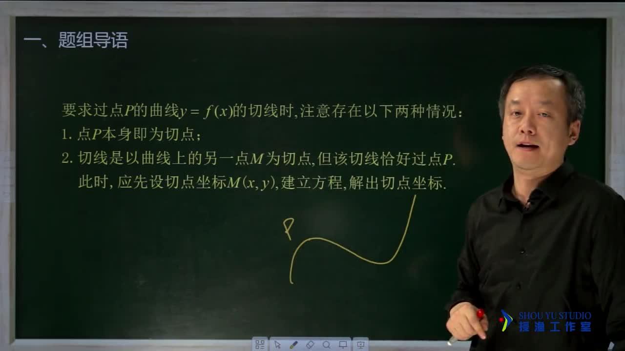 3.1.5 对切线定义的理解(名师视频)-高中数学【题组全解】