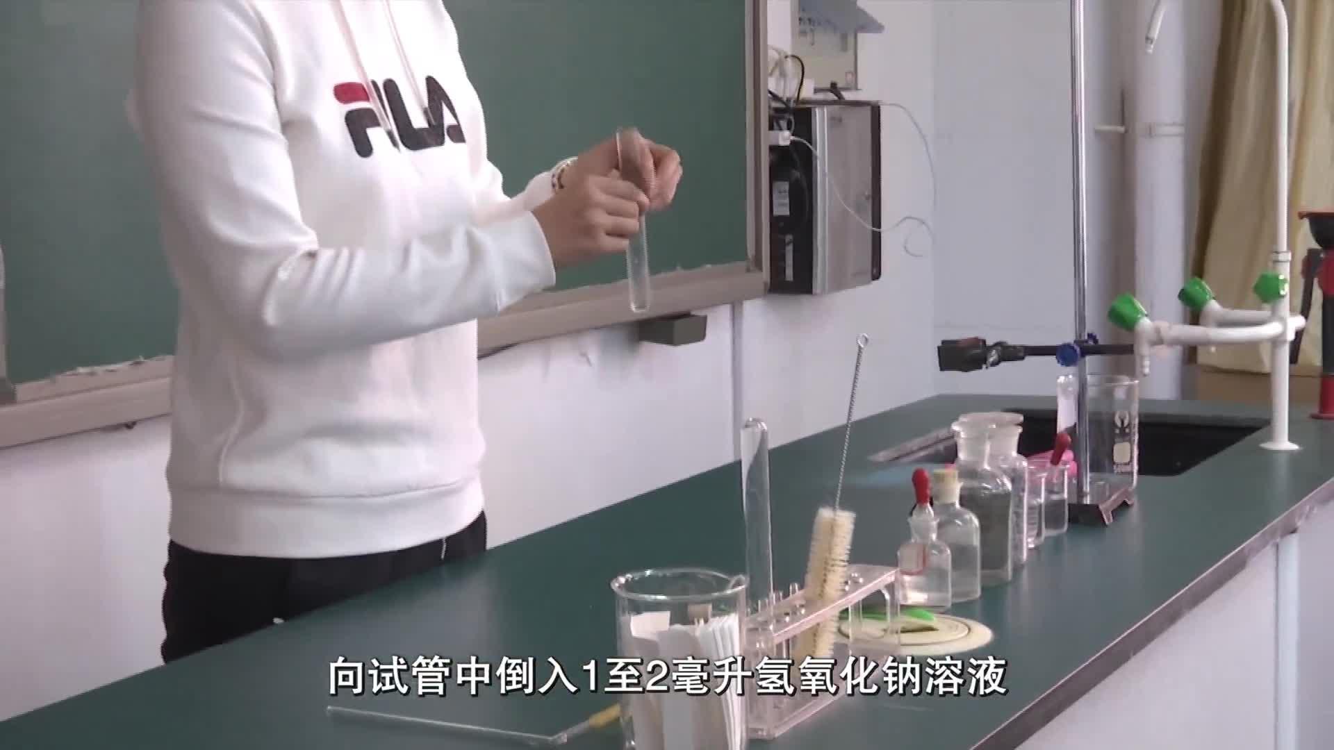 2019河南省郑州市中招理化生实验操作考试(化学)-探究二氧化碳和氢氧化钠的反应-实验演示