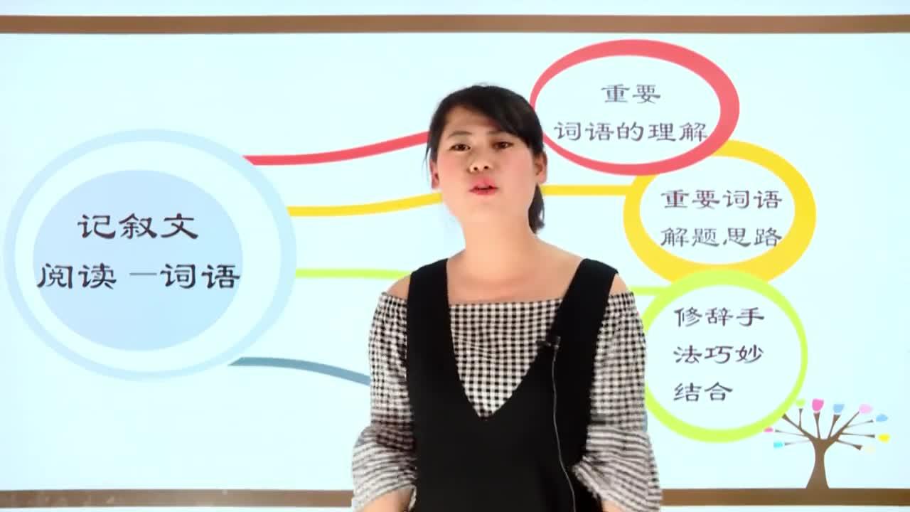 【微加】新初一語文銜接課微課 2 記敘文重點句子含義與表達效果一(上)