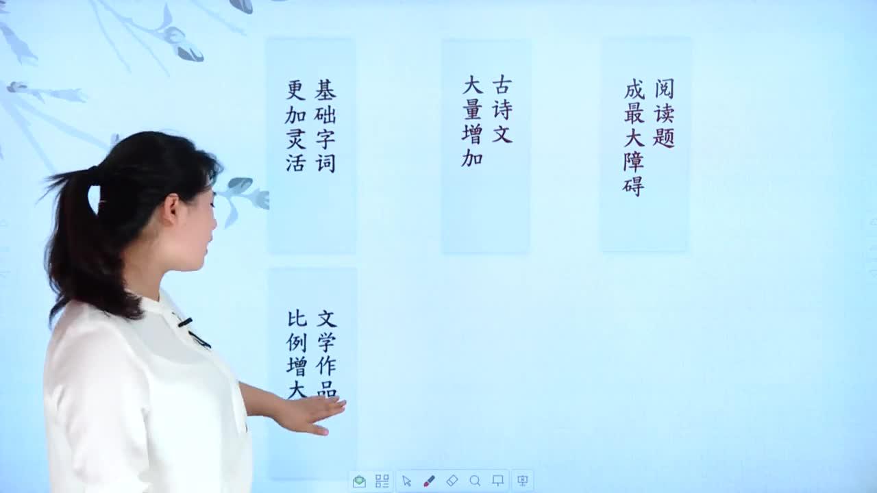 【微加】新初一語文銜接課微課 1 小學語文和初中語文的不同