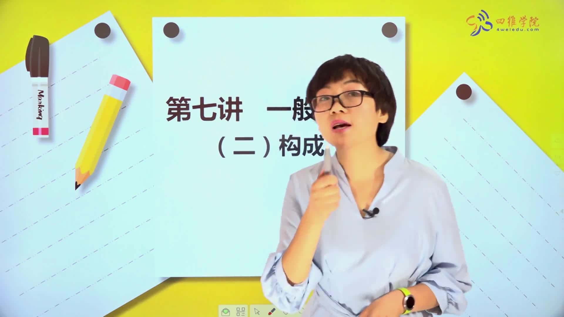 7.2 一般现在时(二)构成-【微加】新初一英语同步课程知识精讲(视频)
