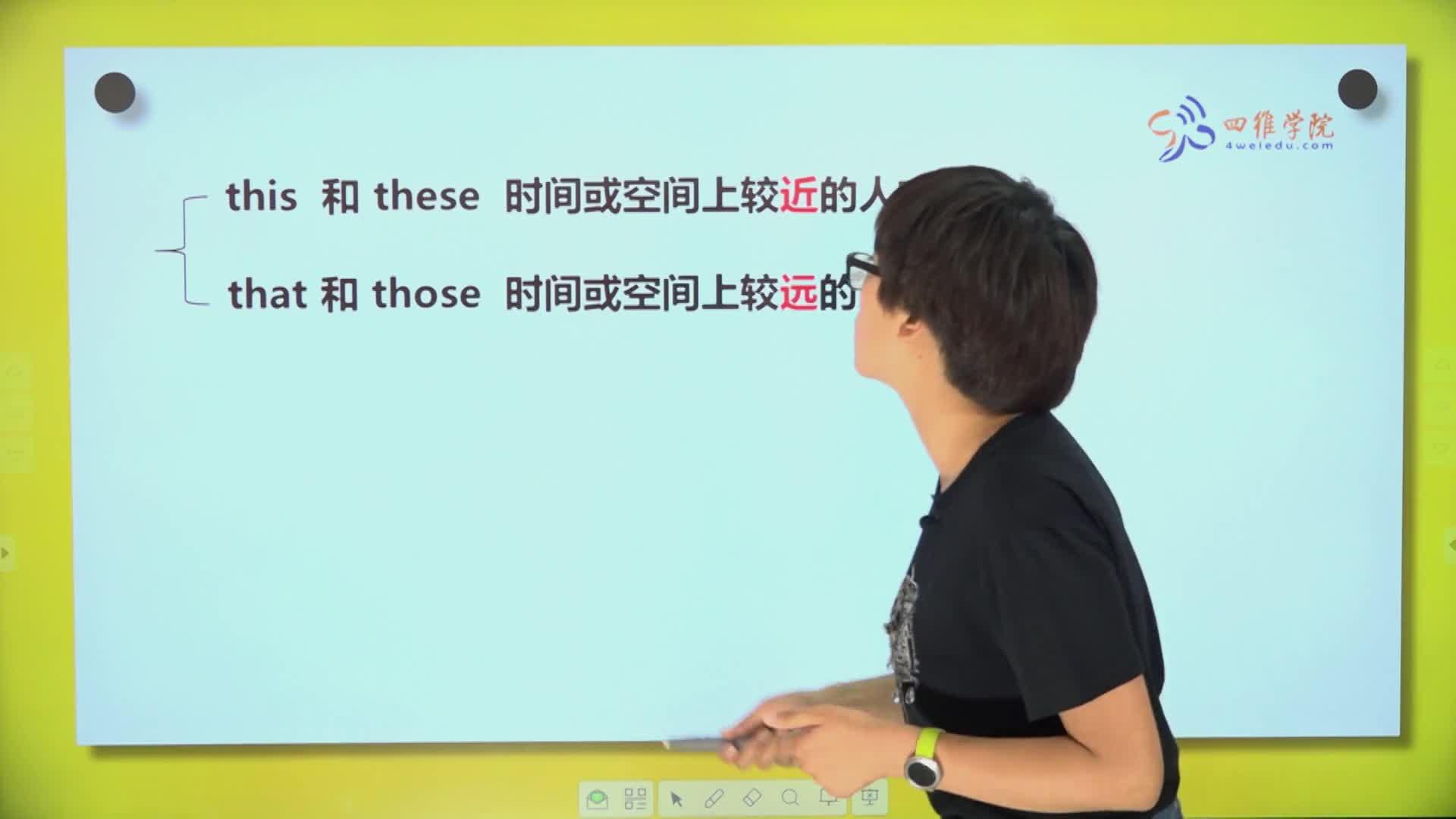 5.3 代词(三)指示代词-【微加】新初一英语同步课程知识精讲(视频)