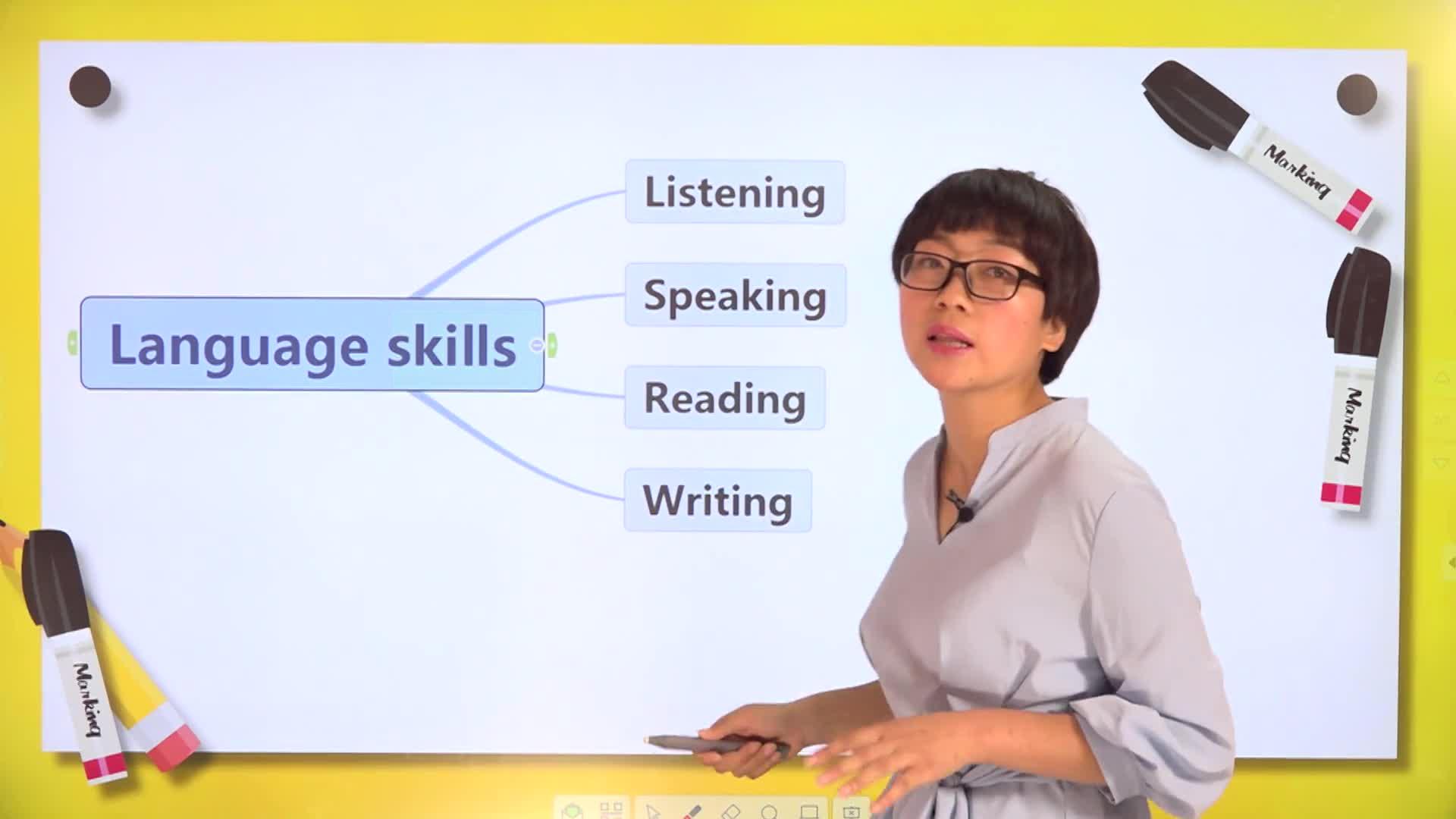 2.1 初中英语听说读写四大方法及技巧(上)-【微加】新初一英语同步课程知识精讲(视频)