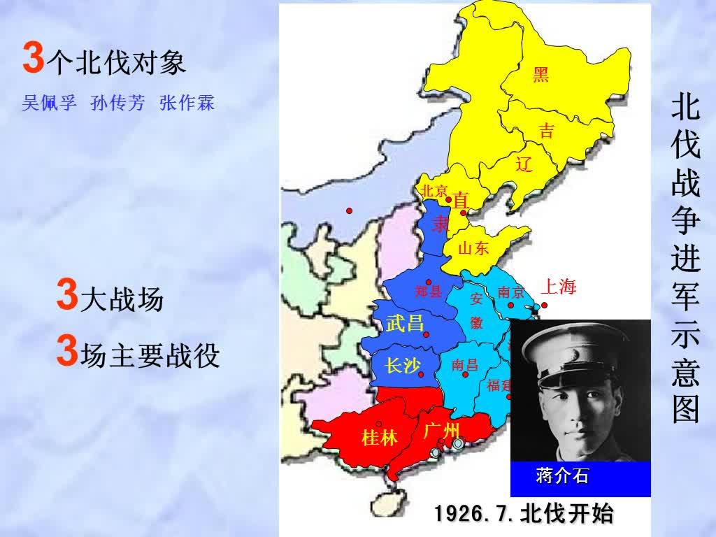部编版 八年级历史上册 第五单元 第15课 北伐战争
