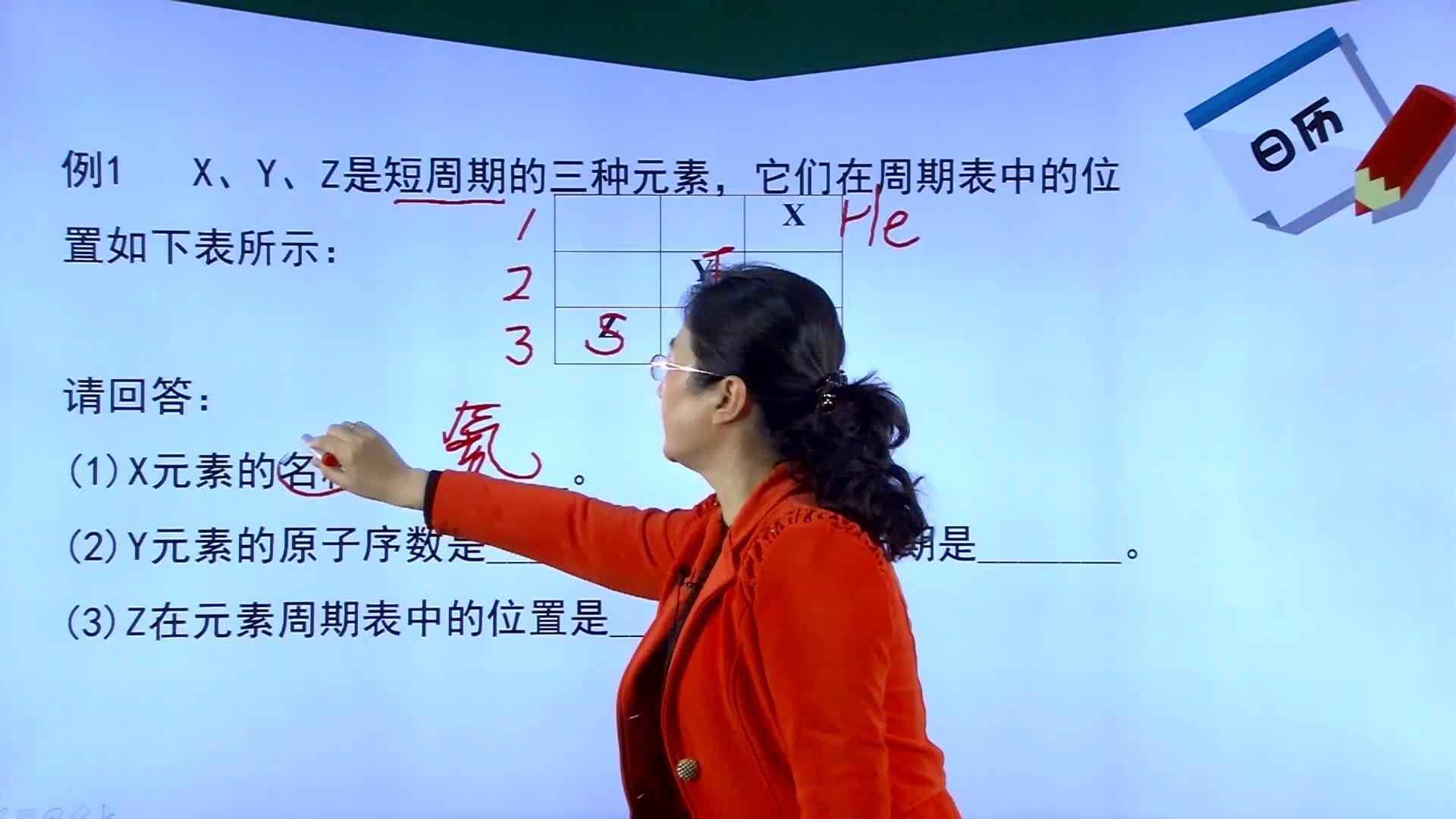人教版 高中化学二轮复习直击高考 专题三 元素推断(一)-名师示范课