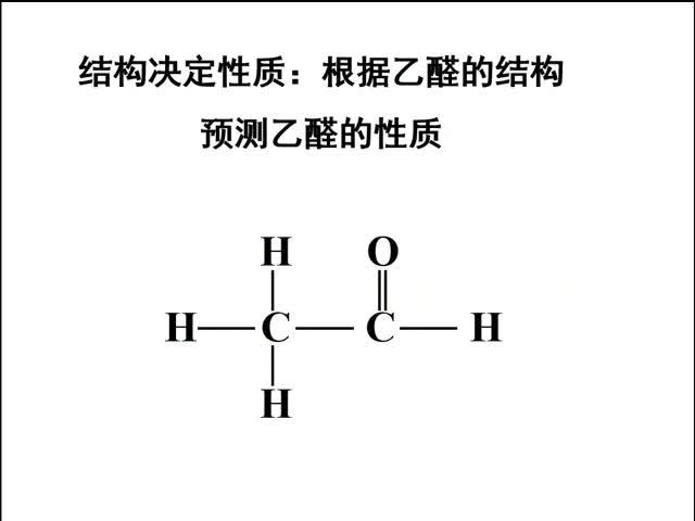 人教版 高二化學選修5 第三章 烴的含氧衍生物 第二節 醛 -視頻微課堂