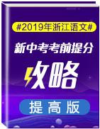 2019年浙江语文新中考考前提分攻略(提高版)