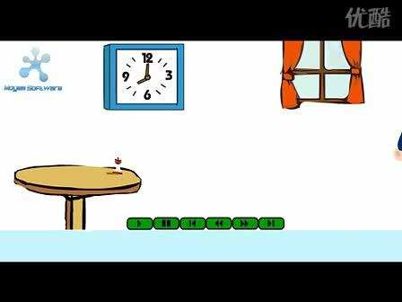 人教新课标 高中英语 语法:英语语法视频教程  过去进行时辨析(flash)-视频素材