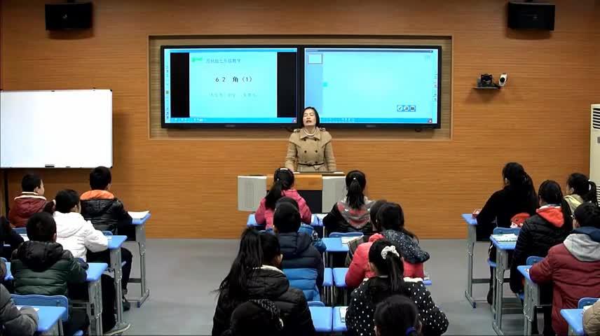 苏科版 七年级数学上册 第六章 第2节 角(一) 朱琴芳-视频公开课