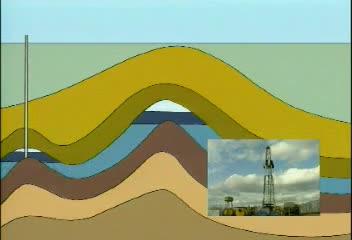 人教版 九年级化学 燃料的合理利用与开发-石油天然气的形成-视频素材